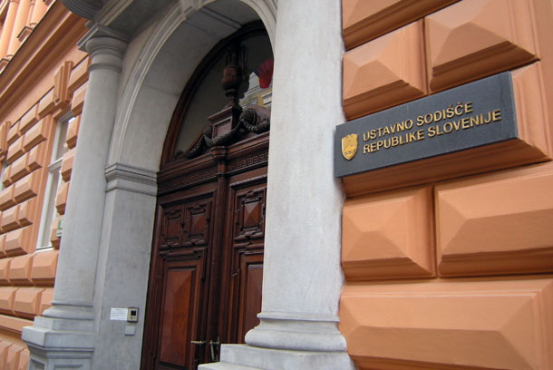 Fotografija stavbe Ustavnega sodišča