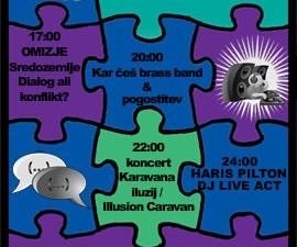 Plakat za dogodek Kultuar.