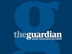 Logo časopisa Guardian.