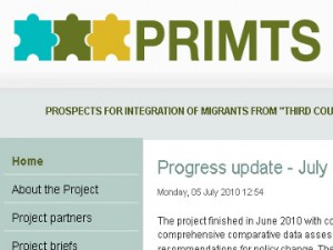 primts project web site