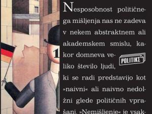 Knjiga 'Zlo nemišljenja' predstavljena tudi v Kopru