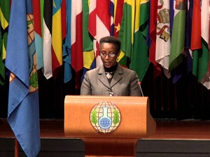 Njena ekscelenca Immaculee Uwanyiligira, ruandska veleposlanica,  obiskala Mirovni inštitut