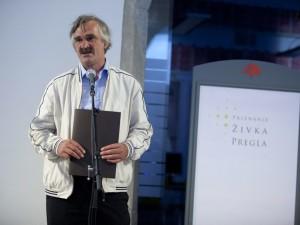 Irfan Beširević prejel priznanje Živka Pregla