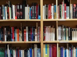 Fotografija knjižne police