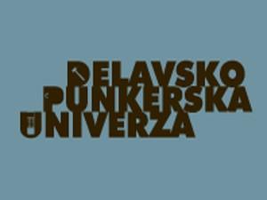 Logo Delavsko punkerske univerze.