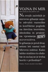 Vojna in mir, ob 20.letnici Miorvnega inštituta, zbirka Politike.