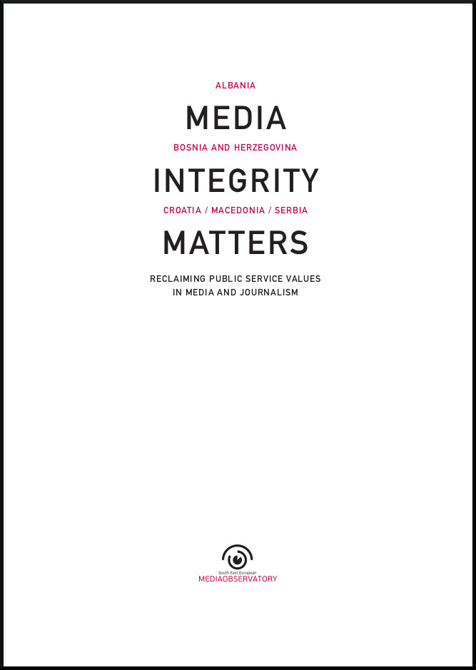 media integrity matters book cover