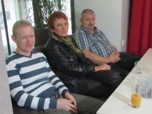 Marko Mesojedec (TV Vaš kanal), Petra Držaj (RTV SLO), Rastko Božič (STA, revija RAST)