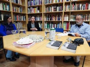 Utrinki s pogovora o novi knjigi v zbirki Politike