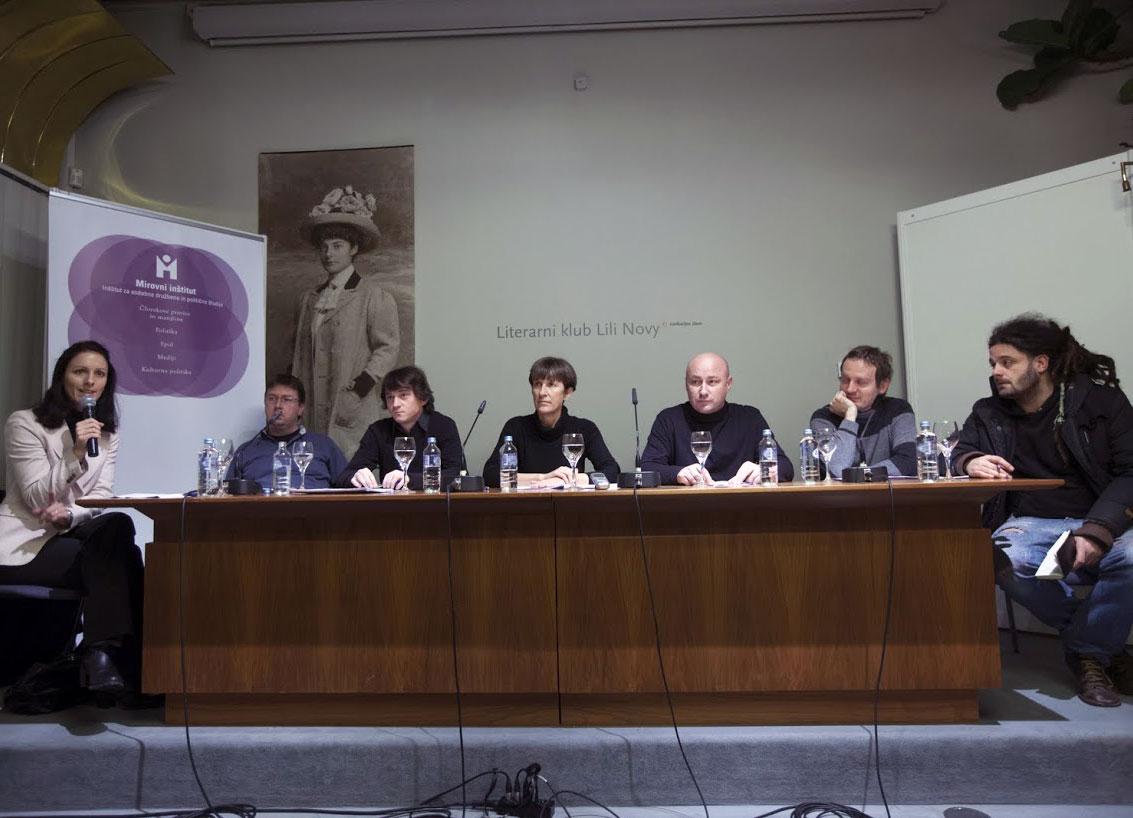 Forum Mirovnega inštituta: Protesti. Zakaj in kaj zdaj?, 12.december 2012, Cankarjev dom, Ljubljana