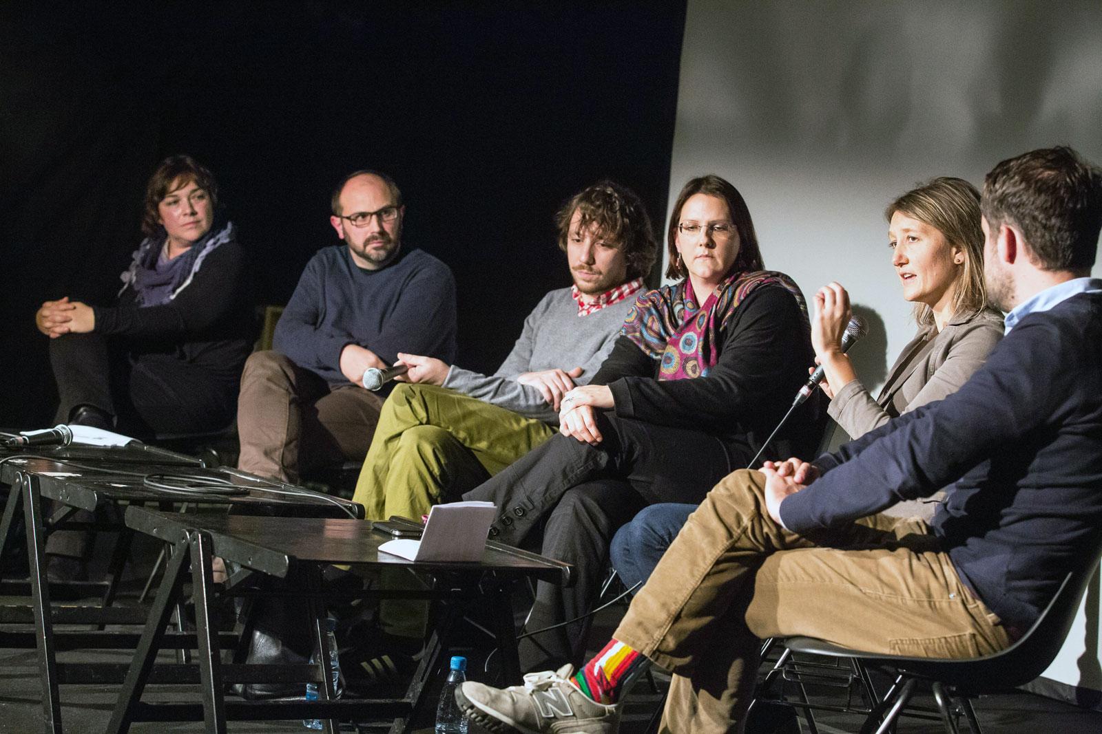 Javni forum: V imenu ljudstva: rasizem, populizem in diskriminacija, 19. november 2014, CUK Kino Šiška
