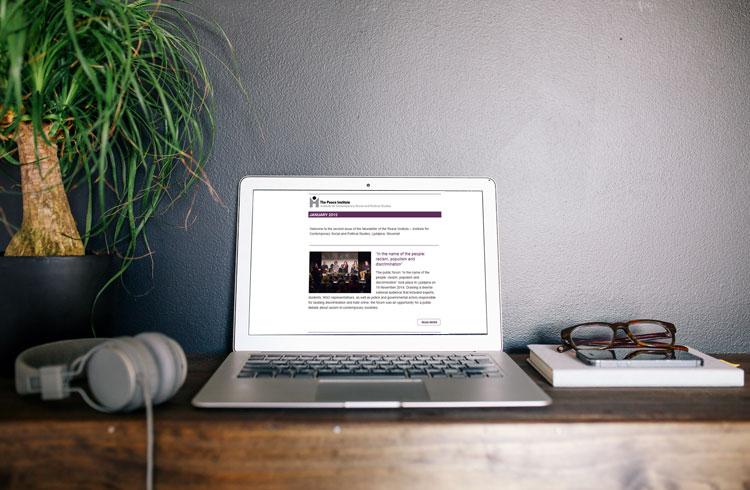 Mockup za e-novičnik