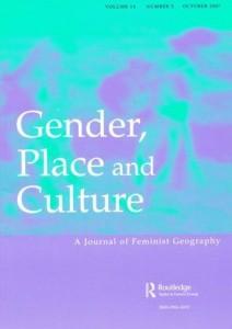 Gender, Place & Culture