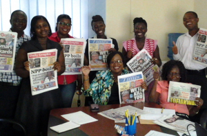 Global Media Monitoring Project, Ghana