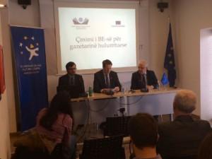 Priština, 16 March 2015: EU award for investigative journalism launching event