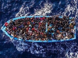 African migrants boat to Europe