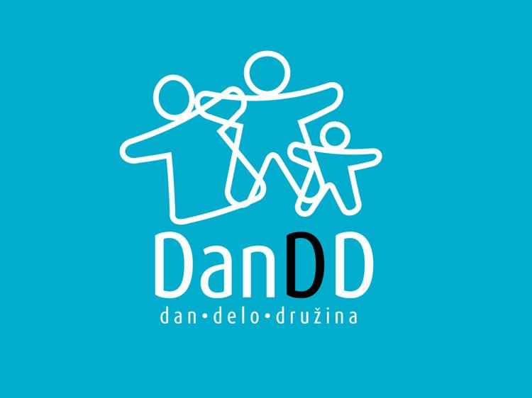 Logotip projekta Dan Delo Družina
