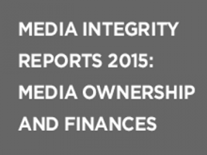 Research reports on media ownership and state-media financial relations in the countries of South East Europe