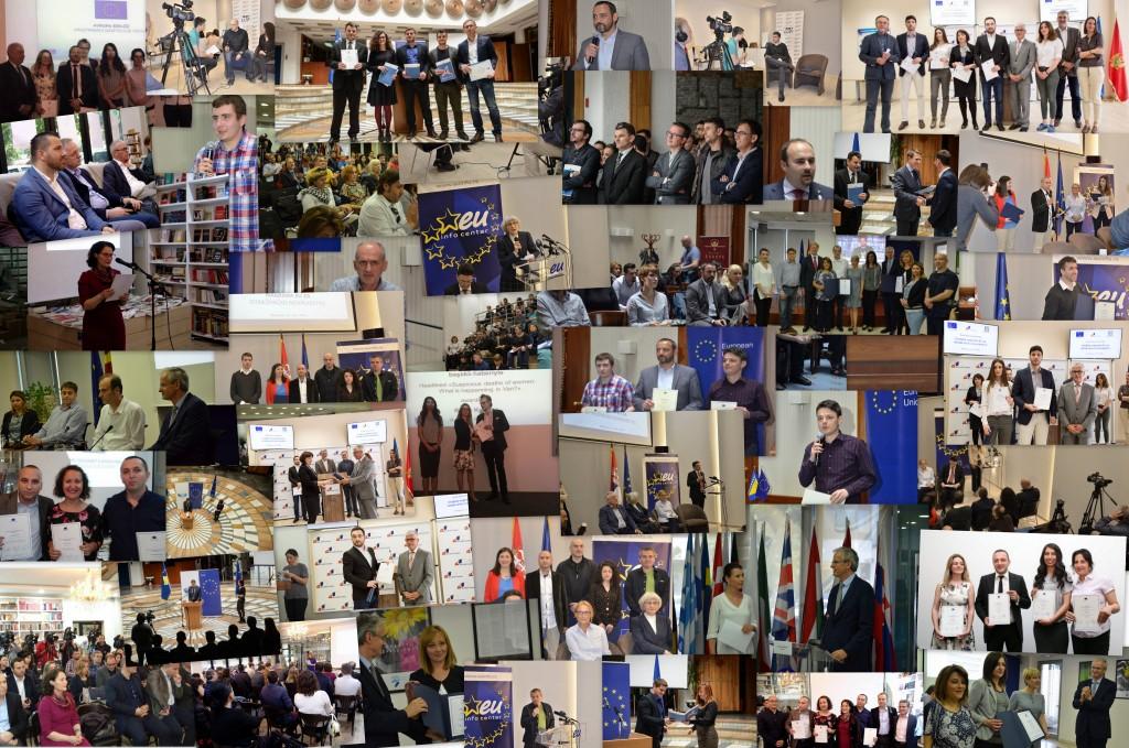 Photo Collage EU award ceremonies 2016