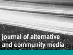 "Prva številka mednarodne revije ""Journal of Alternative and Community Media"""