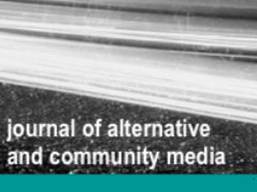 naslovnica web strani Journal of Alternative and Community Media