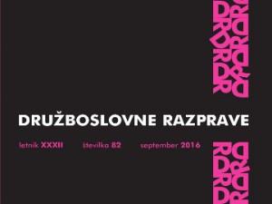 Uprising movements analyzed in Družboslovne razprave journal