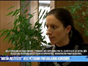 Komentar dr. Neže Kogovšek Šalamon na latvijski televiziji