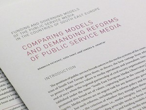 Regional overview of Public Service Media models in South East Europe