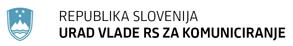 Urad vlade RS za komuniciranje_logo