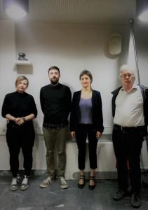 Marko Ribać in komisija: Breda Luthar, Mojca Pajnik (mentorica)  in Jože Vogrinc.