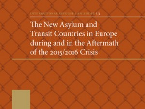 A book on new asylum and transit countries in Europe