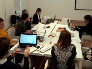 Prvi sestanek raziskovalk in raziskovalcev projekta