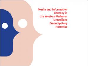 O politikah in praksah razvoja medijske in informacijske pismenosti v državah Zahodnega Balkana