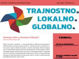 Majski novičnik s področja globalnega učenja
