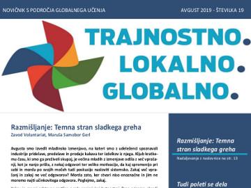V avgustu je izšel nov novičnik s področja globalnega učenja