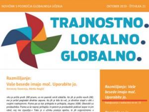 Oktobrski novičnik s področja globalnega učenja