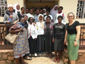 Obisk ženske organizacije Nyamirambo Women's Center v Kigaliju, Ruanda