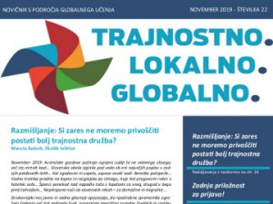Novembrski novičnik s področja globalnega učenja