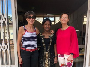 Tanja Fajon, a member of European Parliament, visited Nyamirambo Women's Center