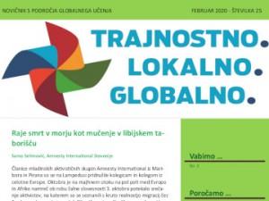 Novičnik s področja globalnega učenja za izobraževalce, št. 25