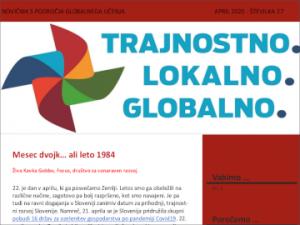 Novičnik s področja globalnega učenja za izobraževalce, št. 27