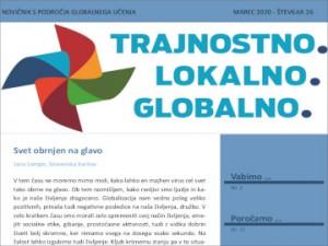 Novičnik s področja globalnega učenja za izobraževalce, št. 26