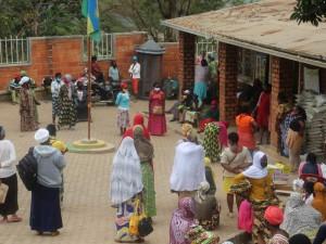 Kigali: Ženski center Nyamirambo (NWC) pomaga pri boju proti posledicam Covid-19