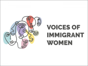 voices of immigrant women logo2