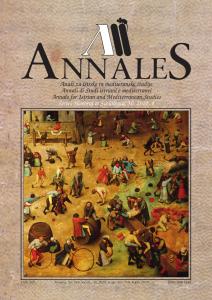 Annales naslovnica