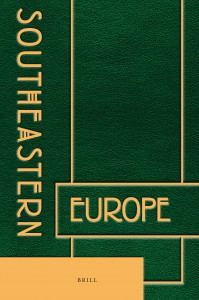 sout eastern europe journal cover