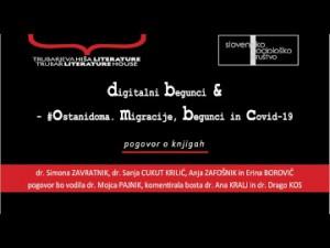 Pogovor o izdanih publikacijah Digitalni begunci & #Ostanidoma. Migracije, begunci in covid-19