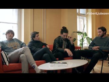 Bojan, Jan, Kris in Martin (Joker Out) izbirajo ljubezen, #IzberiLjubezen tudi ti!👈