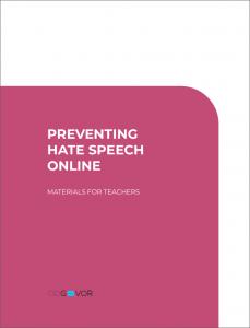 Behave for teachers Preventing Hate Speech Online_naslovnica