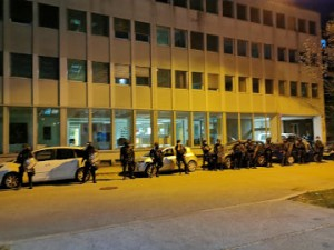 Policija preganja politične nasprotnike